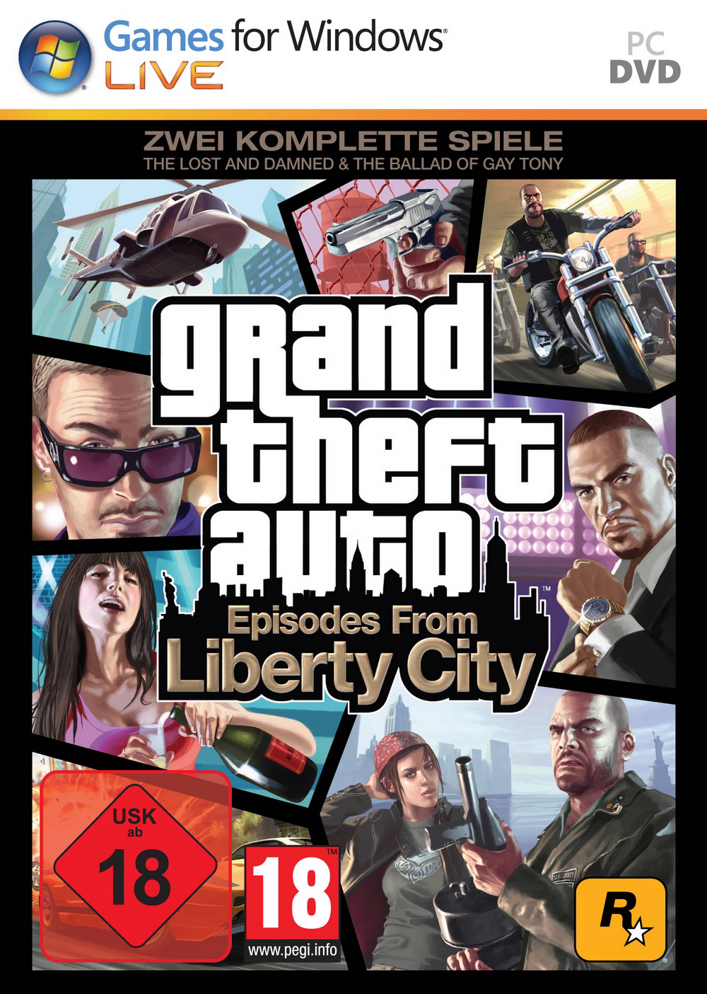 Episodes from Liberty City Pc Cover