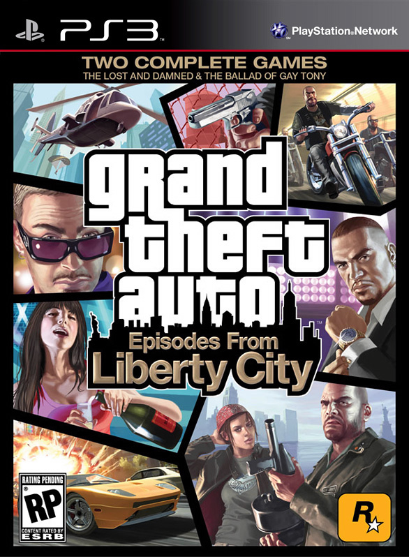Episodes from Liberty City PS3 Cover
