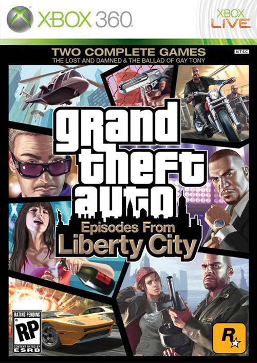 Episodes from Liberty City Xbox Cover