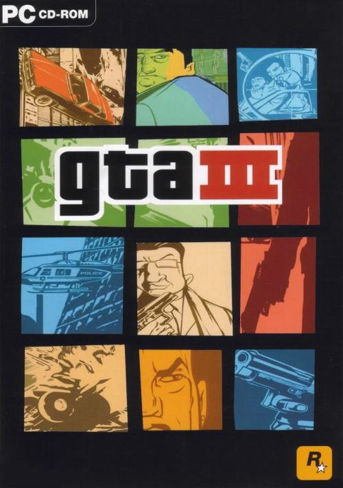 GTA 3 Box Art
