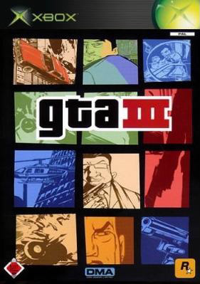 GTA 3 Box Art