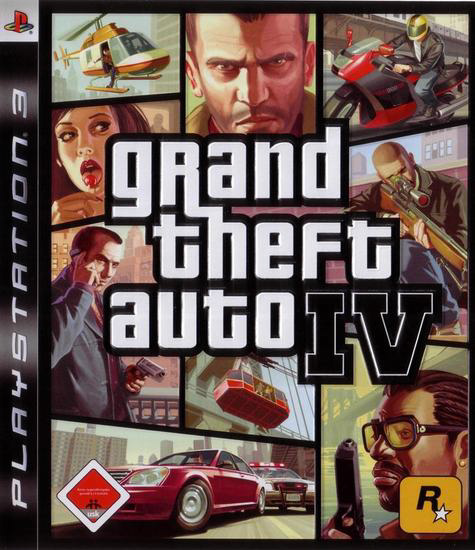 GTA IV Box Art