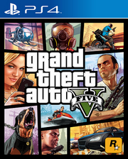 GTA: V Ps4 Cover