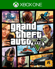 GTA: V Xbox One Cover