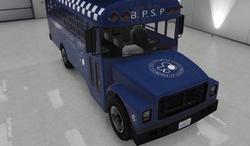 Polizei-Gefängnisbus