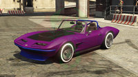 getunter Coquette Classic Cabrio von Vorne