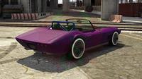 getunter Coquette Classic Cabrio von Hinten