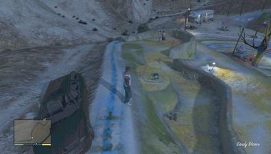 Raumschiffteil Fundort in Los Santos - Bild wird geladen