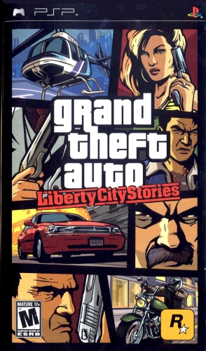 Liberty City Stories Box Art