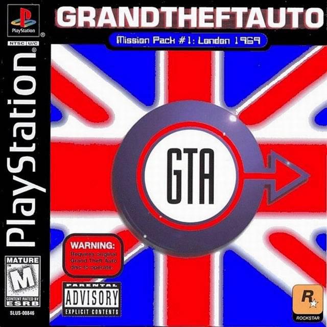 GTA London Box Art