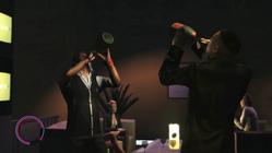 Champagner Trinkwettbewerb
